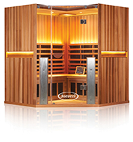 Corner Full Spectrum Sauna