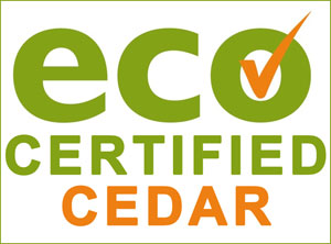 Eco Certified Cedar - FSC Cedar Wood