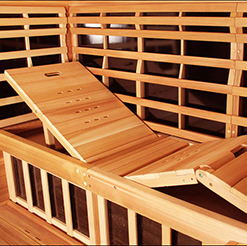 Sauna Recliner Bench