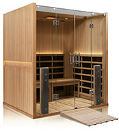 Sanctuary Retreat ADA Compliant Full Spectrum Infrared Sauna